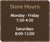 Woody's Nursery Store Hours